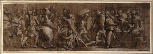Study for a frieze