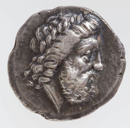 Eight Ancient Greek coins