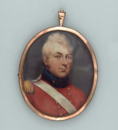Miniature portrait of Lord Campbell