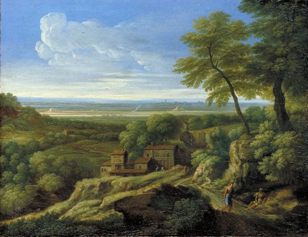 Hilly Landscape with Classical Figures