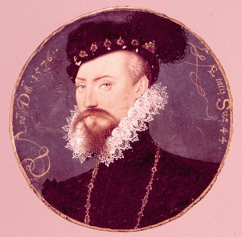 Portrait of Robert Dudley, 1st Earl of Leicester
