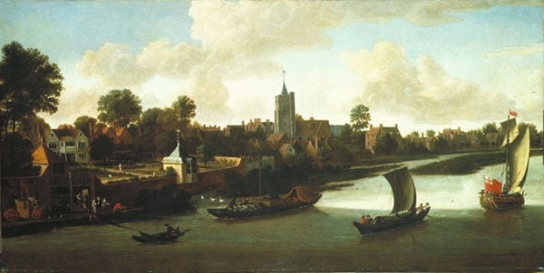 Chiswick from the River