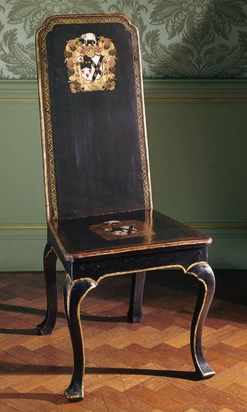 Collection of English furniture