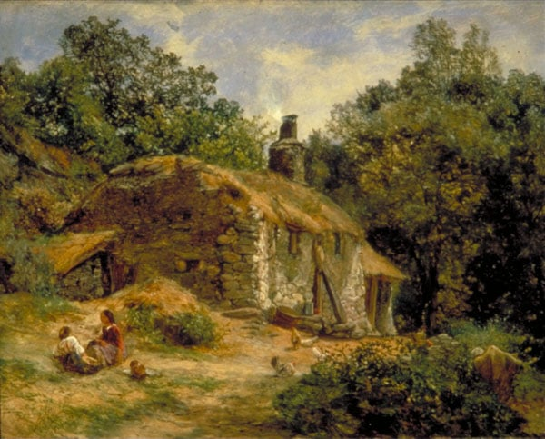Welsh Cottage, Vale Of Conway