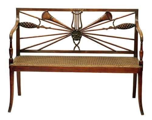 Collection of 10 items of furniture