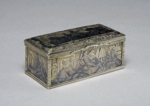 Collection of 20 silver boxes
