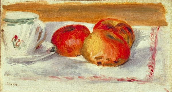 Apples and Tea-cup