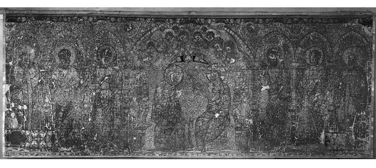 Embroidered altar-frontal
