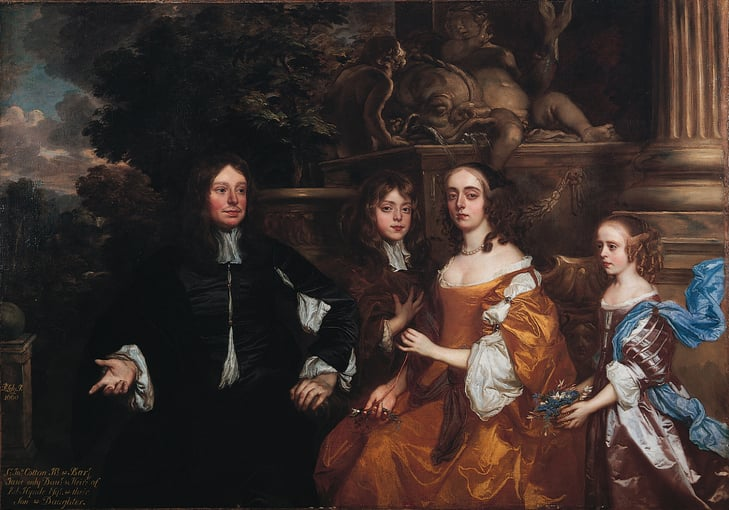 Sir John Cotton and Family