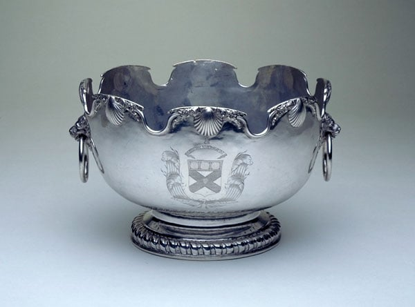 Silver Monteith Bowl