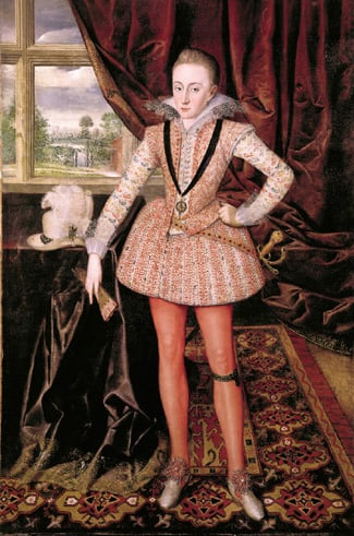 Portrait of Henry, Prince of Wales,1594-1612