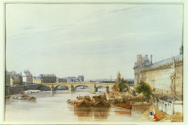 Seine and Tuilieries