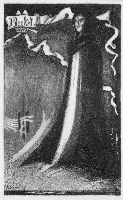 A Study of Henry Irving as Becket