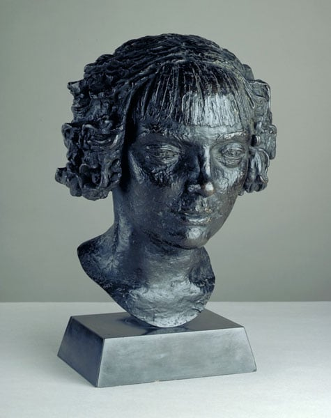 Head of Noneen (Head of a Girl)
