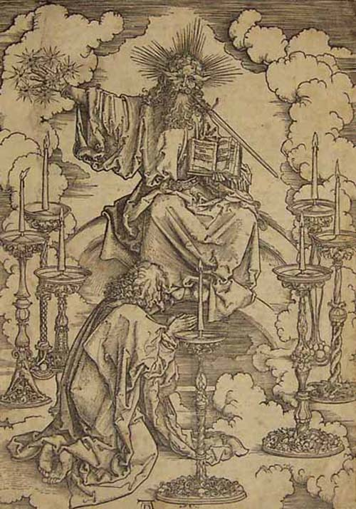 St. John's Vision of Christ and the 7 Candlesticks