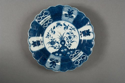 Pair of Caughley plates