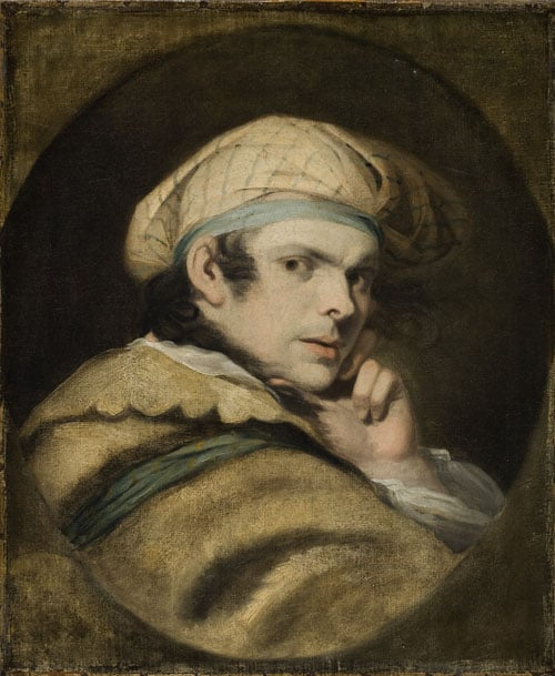 Self-Portrait in Character