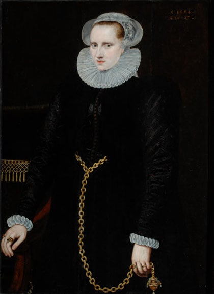 Portrait of a Lady aged 27