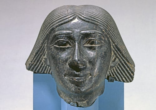 Head from a Statue of a Man