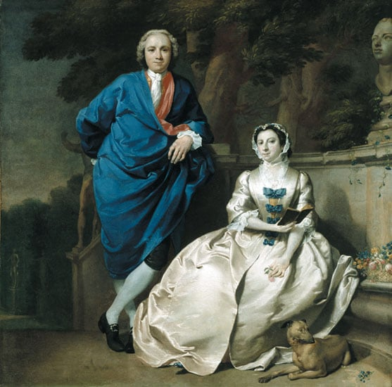 G M Moser and his wife, Mary