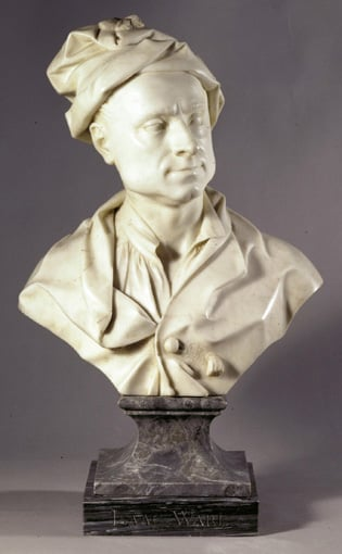 Bust of Isaac Ware