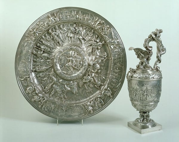 Ewer & basin from the Lomellini silver