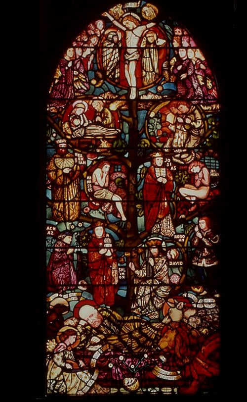 The Tree of Jesse (stained glass)