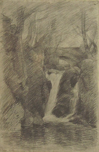 The Lower Cascade, Rydal