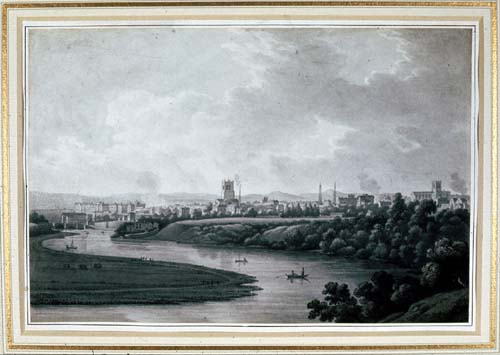 A View of Chester from Boughton