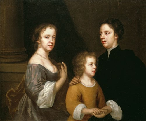 Portrait of the Artist with her Husband, Charles and their Son