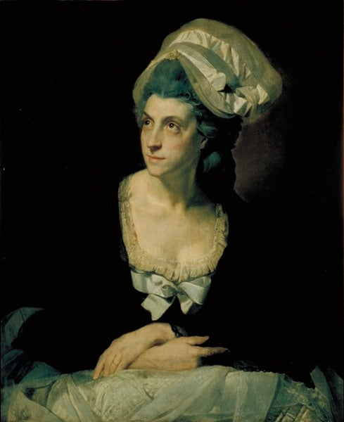 Portrait of Mary Thomas, the Artist's Second  Wife
