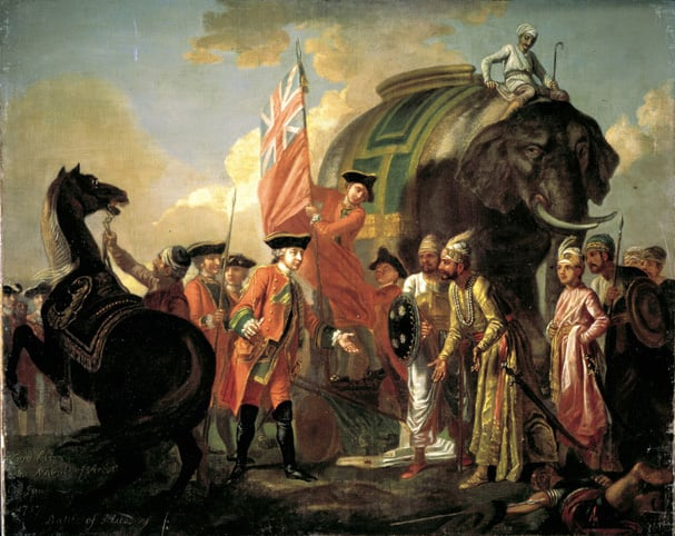 Lord Clive Receiving the Homage of the Nawab