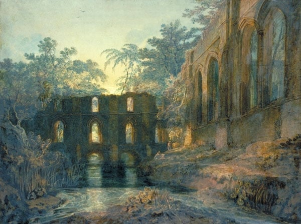 The Dormitory and Transept of Fountains Abbey
