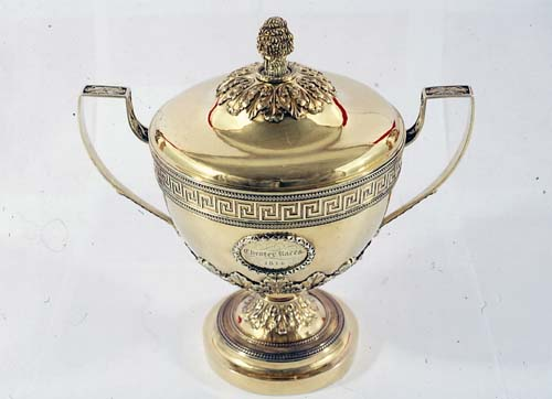 Silver-Gilt Covered Cup