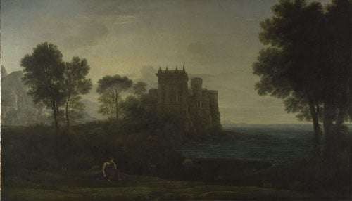 Landscape with Psyche outside the Palace of Cupid (The Enchanted Castle)