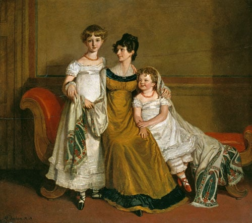 A Mother with Two Children