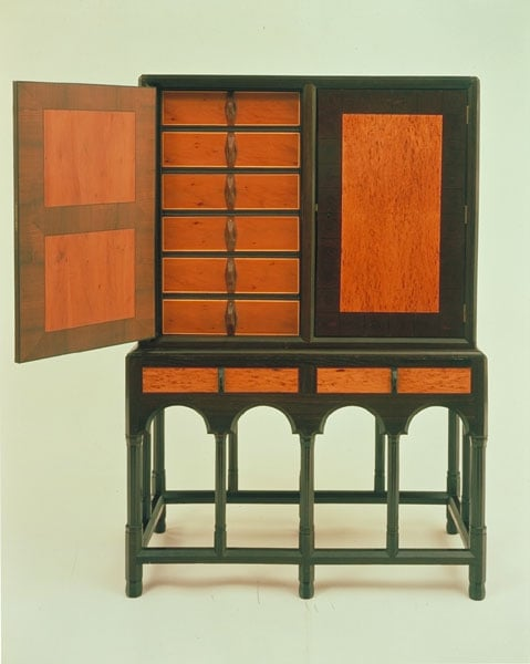 Print cabinet and stand
