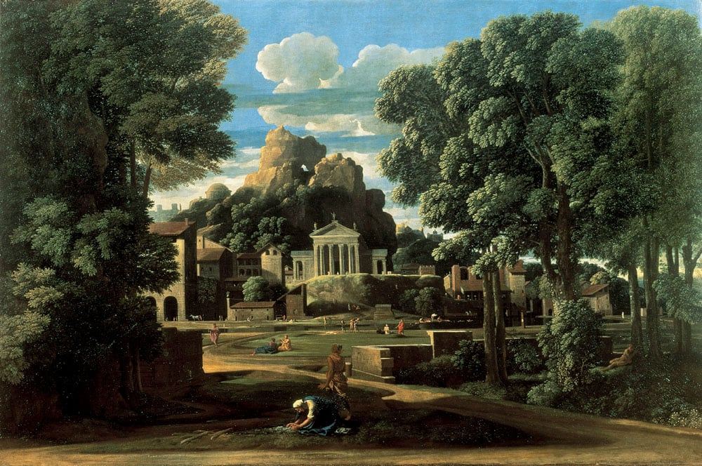 Landscape with the Ashes of Phocion (collected by His Widow)