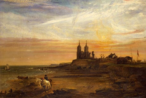 View of the Reculver, Kent in 1818