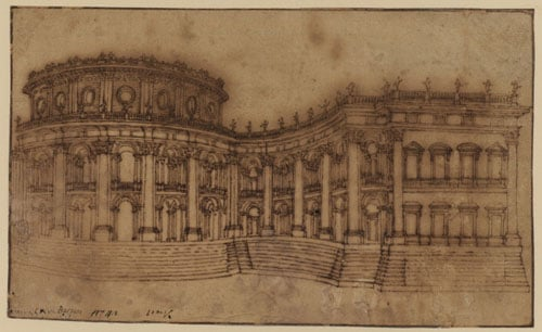 Collection of 147 architectural drawings
