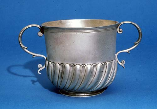 Silver Two-Handled Cup