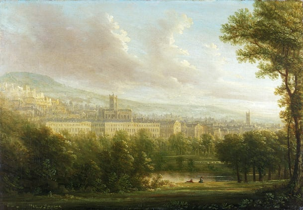View of Bath in the 18th Century