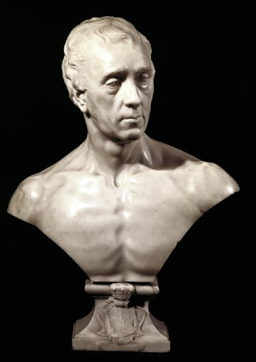 Portrait bust of Philip Dormer Stanhope, 4th Earl of Chesterfield