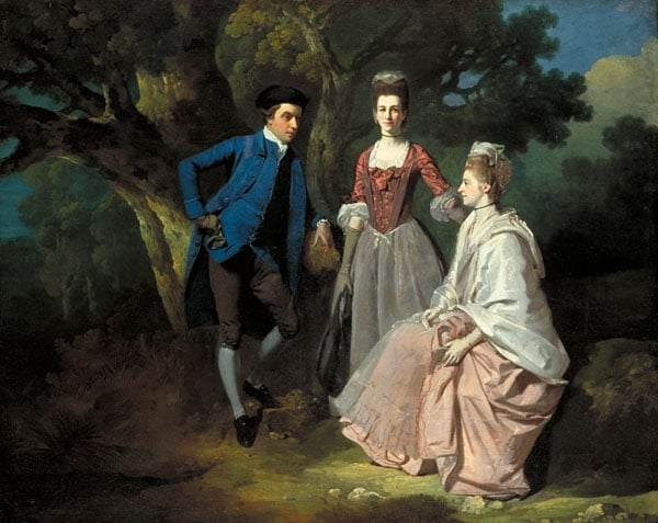 Edward and Priscilla Wakefield with Mrs Wakefield's sister Katherine (Gurney)