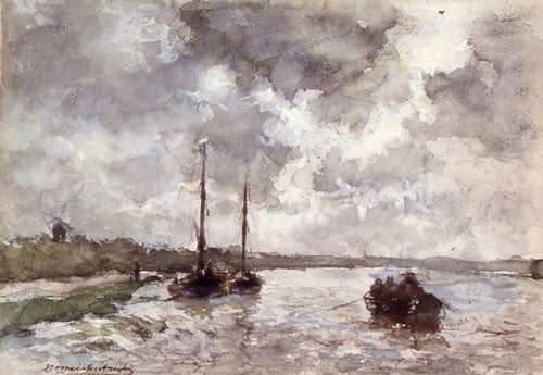 View on the Meuse