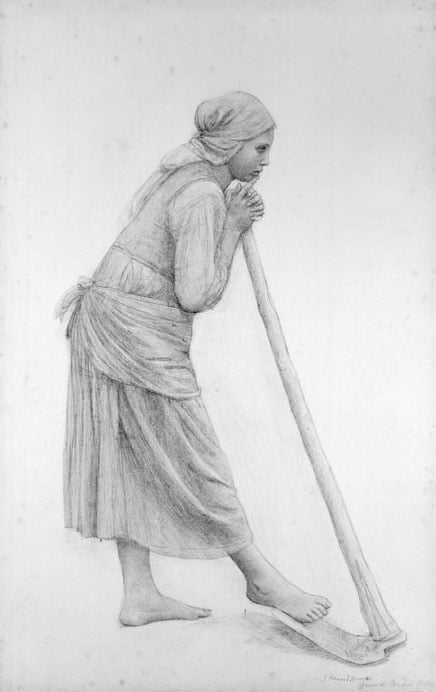 Girl with a Hoe