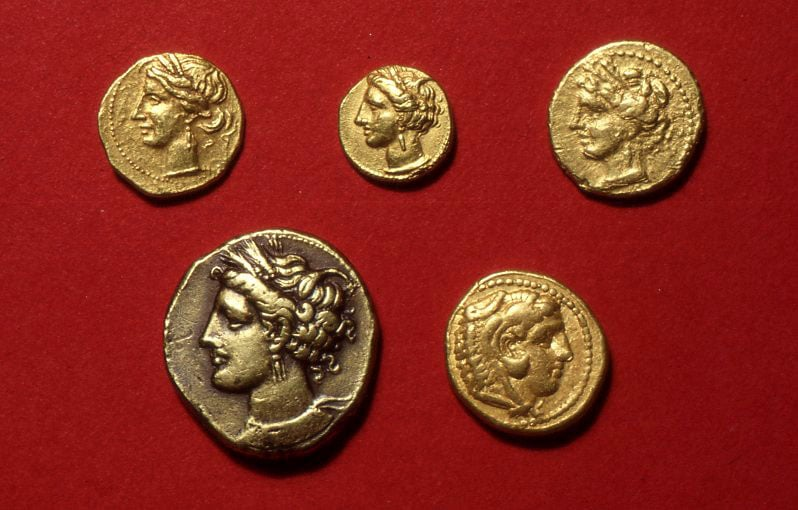 Collection of 14 coins