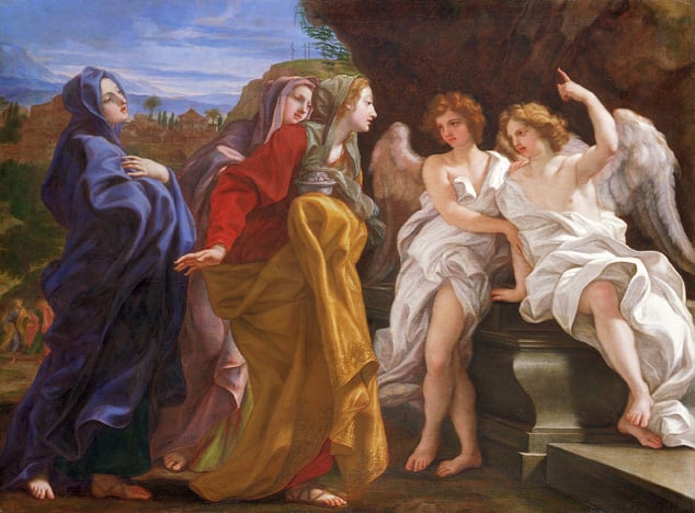 The Three Maries at the Tomb
