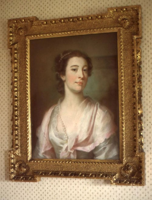 Portrait of William Ffolkes & Portrait of an unknown lady
