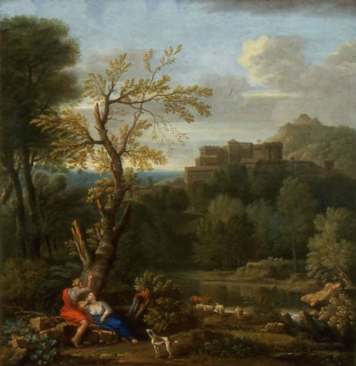 Landscape with Angelica and Medora